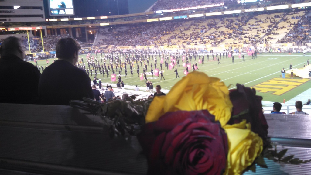 Roses at Sun Devil Stadium