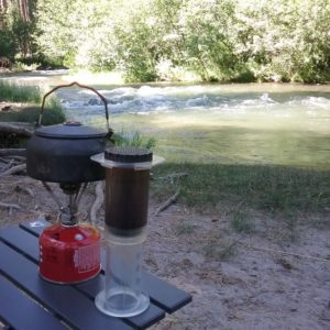 aeropress coffee at Hat Creek